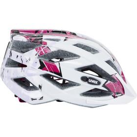 UVEX Air Wing Helmet Barn white-pink